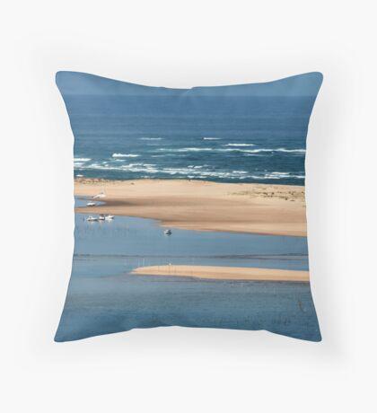 L'ile aux Oiseaux Throw Pillow