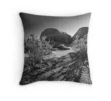 Shadows Growing Long Throw Pillow