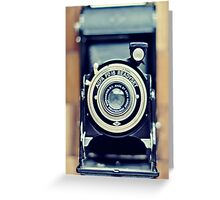 Agfa Readyset Vintage Camera Greeting Card