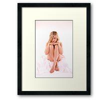 Womens body Framed Print
