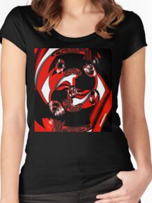 Drifting Women's Fitted Scoop T-Shirt