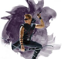 Clint Barton by redroseses