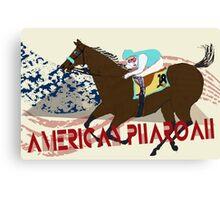 American Pharoah - Kentucky Derby 2015 Canvas Print