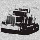 Semi Truck by hottehue
