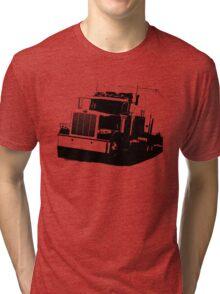 Semi Truck Tri-blend T-Shirt