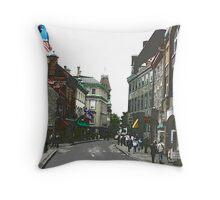 Rue de la Ste. Louis Throw Pillow