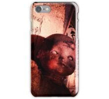 Creepy vintage doll  iPhone Case/Skin