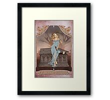 Boticelli Buffy Nouveau Framed Print