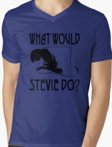 WHAT WOULD STEVIE NICKS DO Mens V-Neck T-Shirt