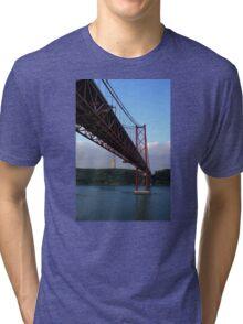 25 De Abril Bridge Tri-blend T-Shirt