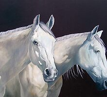 Couple of horses by Comonian