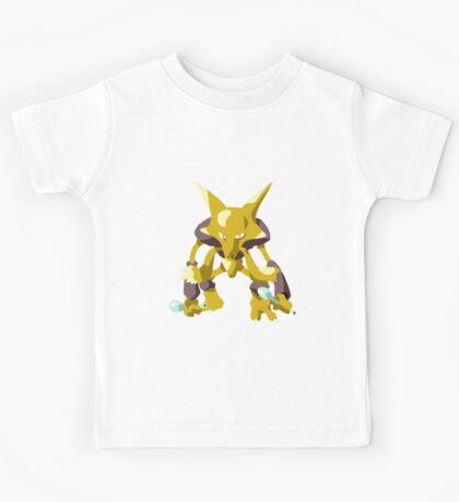 Alakazam Pokemon Simple No Borders Kids Tee