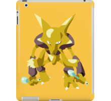 Alakazam Pokemon Simple No Borders iPad Case/Skin