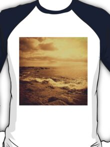 Waves on rocs T-Shirt