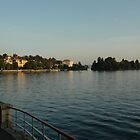 LAKE MAGGIORE, NORTHERN ITALY  by Edward J. Laquale