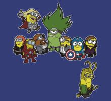 Assemble Minions by ultimatewarrior