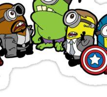 Assemble Minions Sticker