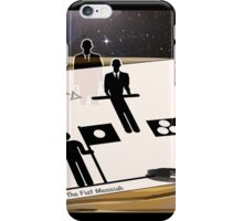 THE FLAT MESSIAH iPhone Case/Skin