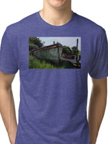 B329 Decommissioned  Tri-blend T-Shirt