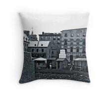 Lower Quebec City Throw Pillow