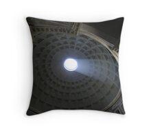Shaft Of Light Throw Pillow