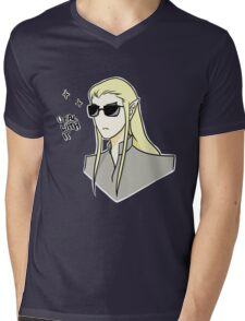 Deal with it Mens V-Neck T-Shirt