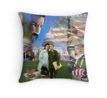 AMERICA THE BEAUTIFUL? Throw Pillow
