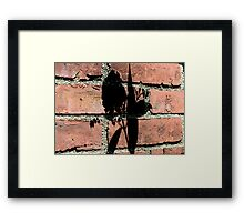 Butterfly Bush Shadow Framed Print