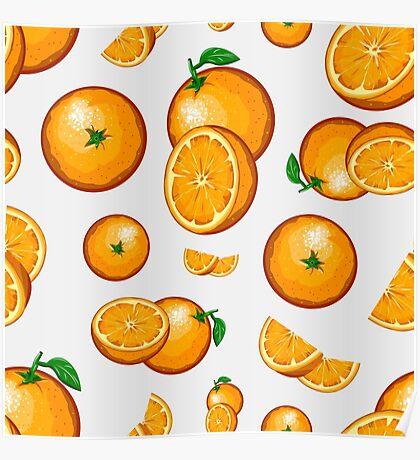 Veggiephile - Oranges Poster