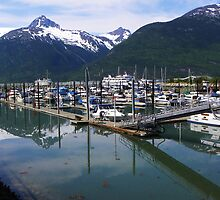 Skagway Alaska Harbor by gcampbell