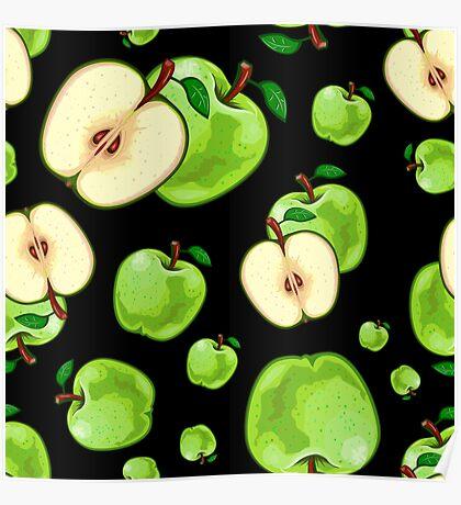 Veggiephile - Apples Poster