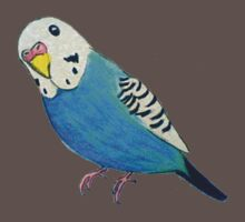 Parakeet Drawing T-shirt by parakeetart
