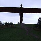 Angel of the North, Gateshead, England by DJ-Stotty