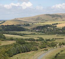 Cuckmere Valley, South Coast of England by DJ-Stotty