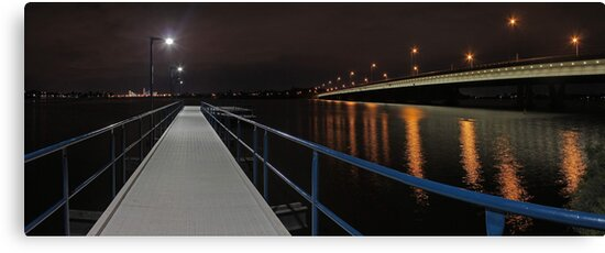 New Mount Henry Bridge Jetty - Western Australia  by EOS20