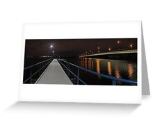 New Mount Henry Bridge Jetty - Western Australia  Greeting Card