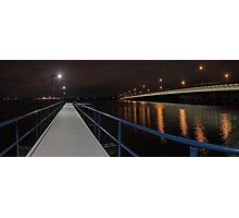 New Mount Henry Bridge Jetty - Western Australia  Photographic Print