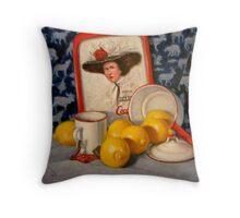 Past Teatime Throw Pillow