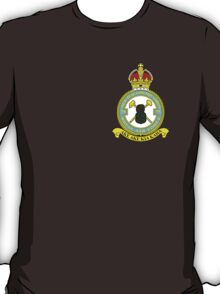 75(NZ) Squadron RAF Full Colour crest (small) T-Shirt