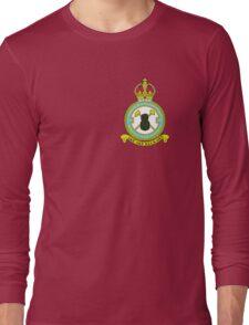 75(NZ) Squadron RAF Full Colour crest (small) Long Sleeve T-Shirt