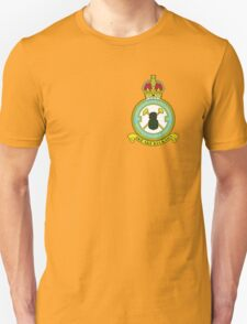 75(NZ) Squadron RAF Full Colour crest (small) Unisex T-Shirt