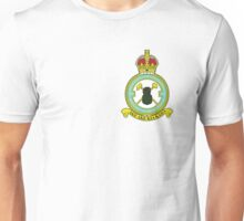 75(NZ) Squadron RAF Full Colour crest (small) Unisex T-Shirt