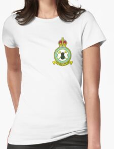 75(NZ) Squadron RAF Full Colour crest (small) Womens Fitted T-Shirt