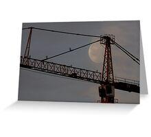 Moon&Crane Greeting Card