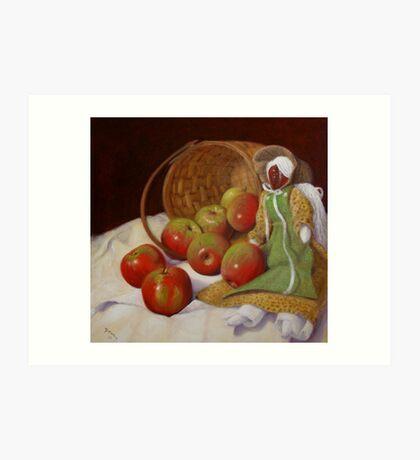 Apple Annie Art Print