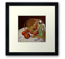 Apple Annie Framed Print