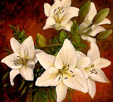Day Lilies by Donelli J.  DiMaria