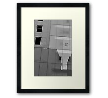 Reflections on High Fashion Framed Print