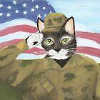 US Army Cat by TaraFlyPhotos