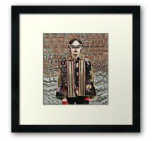 Trippy Clothing. Framed Print